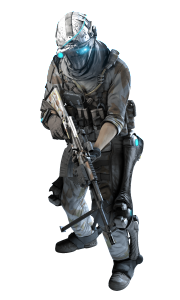 Assault Soldier in the Winter Pack