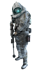 Recon Soldier in the Winter Pack